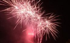 Feuerwerk von der Magic Bike Rüdesheim 2013