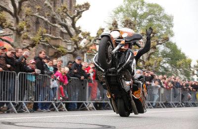 Stuntshow Rainer Schwarz – Magic Bike Rüdesheim 2013