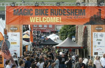Eventgelände Donnerstag – Magic Bike Rüdesheim 2016