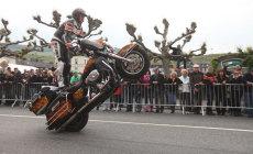Stunt show Rainer Schwarz