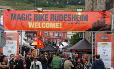 Eventgelände der Magic Bike Rüdesheim 2014