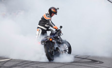 Stuntshow Rainer Schwarz – Magic Bike Rüdesheim 2014