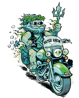 Magic Bike 2018 Mascot