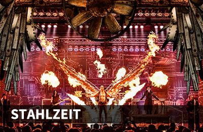 Headliner 2020: Stahlzeit © Sunvemetal